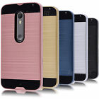 For Motorola Moto X Pure Edition / Style Hard Case Hybrid Shockproof Matte Cover