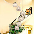 LED modern restaurant chandelier bar crystal pendant lamp stair ceiling light