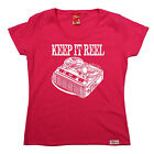 Keep It Reel WOMENS T-SHIRT cassette old skool tape player music mothers day