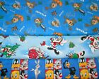 LOONEY TUNES #2  FABRICS Sold INDIVIDUALLY NOT AS A GROUP By the HALF YARD
