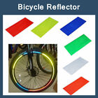 8 pcs Reflective Stickers Bicycle Bike Reflector Security Wheel Rim Decal Tape