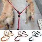 """55"""" 1 Lead 2 Way Rope Braided Multiple Dual Double Coupler Dog Pet Walking Leash"""