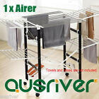 New Portable 2 Layers Indoor Clothes Home Airer Drying Rack Garment Hangers