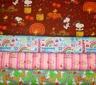 SNOOPY #5  FABRICS Sold INDIVIDUALLY NOT AS A GROUP By the HALF YARD