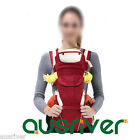 Cotton Multi-Functional Newborn Infant Baby Carrier Shoulder Straps Breathable
