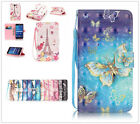 Beautiful Cute wallet Leather case Skin cover with strap for various phone
