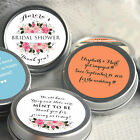 12 Personalized Bridal Shower Mint Tins - Wedding Mints - Wedding Favors