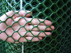 RIGID GREEN PLASTIC GARDEN FENCING MESH HEXAGONAL PLASTIC MESH (VARIOUS SIZES)