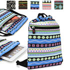 10 inch Tablet Protective Drawstring Tribal Print Backpack Case Cover BGPS3