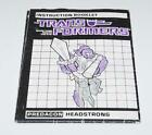 Headstrong Action Figure Robot Instruction Manual 1986 Hasbro G1 Transformers - Time Remaining: 3 days 5 hours 22 minutes 54 seconds