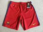 S M L XL NIKE FC BARCELONA 2015 HOME Football Shorts Soccer Calcio 2016 NEW