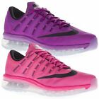 Nike Women's Nike Air Max 2016 Low Top Running Sports Gym Purple Pink Trainers