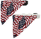 America the Beautiful Bandana Pet Dog Collar - Black or White Collar