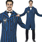 Mens Duke of the Manor Halloween Fancy Dress Gomez Horror Costume Smiffys 24436