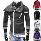 New Mens Fashion Stylish Slim Fit Casual Pullover Short Jacket Coat Hoodies Tops