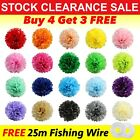 Wedding decorations tissue paper pompoms 4sizes party pom poms (special offer)