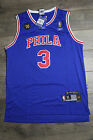 Allen Iverson #3 NBA Philadelphia Phila 76ers Blue Throwback Swingman Jersey New on eBay