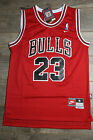 Michael Jordan Jersey #23 Chicago Bulls Retro Hardwood Classics Swingman Red NWT