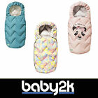 Voksi Design Funky Pushchair Pram Stroller Winter Footmuff Cosy Toes BNIP
