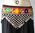 Banjara Vintage Belly dance Coin Belt Tribal Ethnic Gypsy Boho Festival Fashion