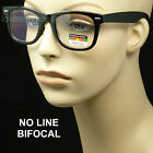 Reading glasses no line bifocal progressive lens style new unisex power