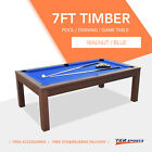 7FT Pool Dinning Office Snooker Billiards Table Free Accessory AU Store $649.99 AUD on eBay