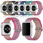 Woven Nylon Fitness Replacement Band Wrist Strap For Apple Watch 38mm 42mm