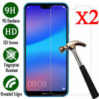 2Pcs Premium Real 9H Tempered Glass Film Screen Protector For Huawei Cell Phone