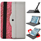 Universal 7 - 8 inch Tablet Slim Sleeve Folio Case Cover & Rotating Stand 08AR2