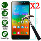 2Pcs Premium Real 9H Tempered Glass Film Screen Protector For Lenovo Cell Phone