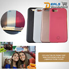 Luxury Luminous Phone Cover LED Light Selfie Phone Case Skin for IPhone 6 6s 6+