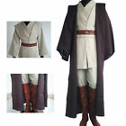 Adult Obiwan Costume Cosplay Halloween Fancy Dress Cloak Sizes S/M/L/XL/2XL