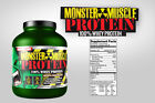 100% Cold Filtered Whey Protein Powder 5lb Monster Muscle FREE SHIPPING