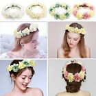 Women BIG Flower Headband Garland Vintage Hair Crown Festival Wedding Boho Beach