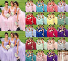 Stock New Lace/Chiffon Formal Prom Party Ball Bridesmaid Evening Dress Size 6-26