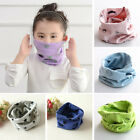 Внешний вид - Kids Baby Girls Boys Ring Scarf Bibs Scarves Stars Fish Shawl Neckerchief Shawl