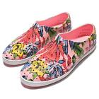 Native Jericho Princess Pink Floral Print Womens Casual Shoes Slip-on 004018092
