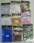 Sheer Organza Bags With Ribbon Assorted Sizes Colours for Jewellery,Wedding,Gift