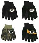 NWT NFL Green Bay Packers No Slip Gripper Palm Utility Work Gardening Gloves NEW on eBay