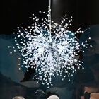 NEW LED crystal hanging lamp modern restaurant Living room branch ceiling light