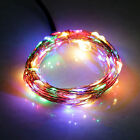 Solar String Lights 100LED 33ft Copper Wire Lights Waterproof Wire Rope