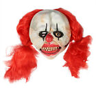 Halloween Scary Sinister Latex Face Mask Circus Clown Adult Fancy Dress Costume