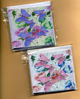 12 & 9 BUTTERFLY GIFT NOTELETS by SELF-REPRESENTING ARTIST FREE P&P