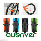 Brand New Durable Anti-Theft Security Bike Foldable Lock Set Bicycle Accessories