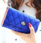 FD4146 Lady Women Clutch Long Purse Leather Wallet Card Holder Handbag Bag Gift♫