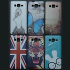 Butterfly Tiger Back Case cover for Samsung Galaxy Grand Prime G530 G530H G5308W