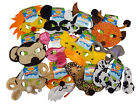Kids Childrens Soft Animal Zoo Jungle Face Mask With Headband Fancy Dress