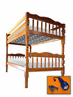 FC89 KIDS CUSTOM THEMED TWIN SIZE BUNK BED SLATS WOOD SUPPORT BOARD PLATFORM