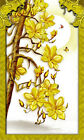 3D Gold Flower Frame Decal Wallpaper Decal Decor Home Kids Nursery Mural Home