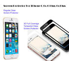 For iPhone 6s/ 6s Plus Ultra Clear/3D Full Cover Tempered Glass screen protector